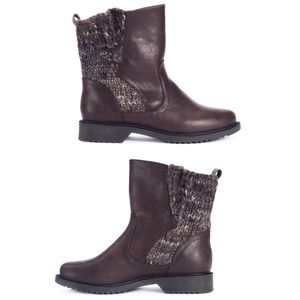 Muk Luks Karlie brown sweater boots size 7